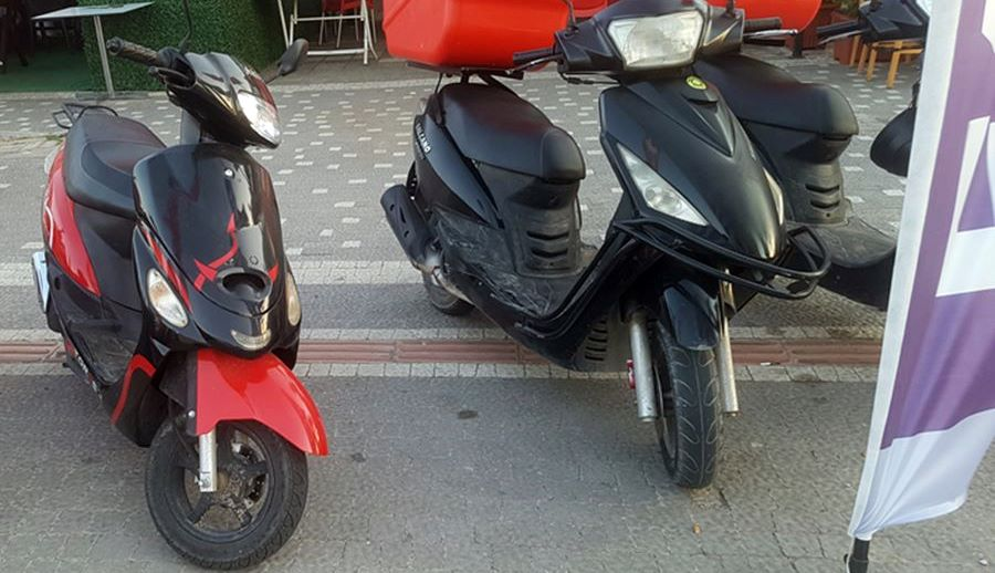 rent scooter in Side